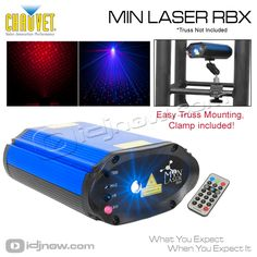 CHAUVET LIGHTING MIN LASER RBX Red & Blue mini  