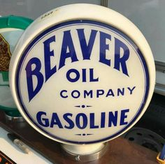 Beaver Oil Co. Gas Globe - Only 1 known to exist!