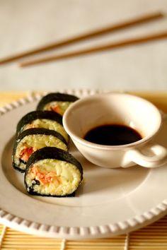 #Sushi z kaszą jaglaną #thermomix