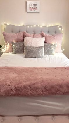 Pink Bedroom Ideas for Teen Girls Girl Bedroom Designs Bedroom Girls Ideas pink shiplap Teen Cute Girls Bedrooms, Pink Bedrooms, Cute Bedroom Ideas, Cute Room Decor, Girl Bedroom Designs, Trendy Bedroom, Bedroom Girls, Teenage Bedrooms, Girl Rooms
