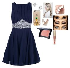 """Hoco 2016"" by mpb15 ❤ liked on Polyvore featuring Boohoo, Casetify, Lauren Lorraine, e.l.f. and Too Faced Cosmetics"