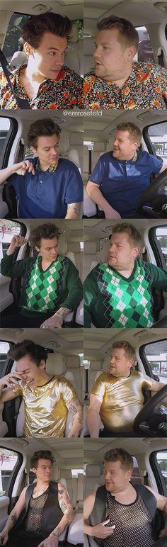 Harry Styles | Carpool Karaoke | emrosefeld |