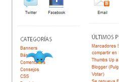 El pájaro de Twitter volando por el Blog : Ayuda Bloggers