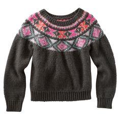 Geo Intarsia Sweater