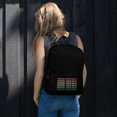 Good Trouble Quotes, Retro Cool Statement / Backpack