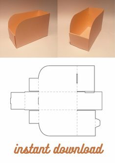 Diy Gift Box Template, Box Packaging Templates, Paper Box Template, Craft Packaging, Cardboard Display, Cardboard Paper, Cardboard Crafts, Envelopes, Homemade Gift Boxes