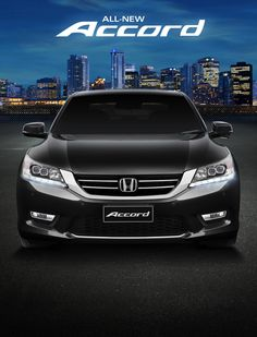 Have it all. New Honda, Mans World, Honda Accord, Advertising, Australia, Black, Poster, Black People, All Black