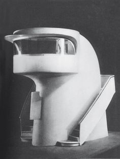 Model of a timekeeping pavilion, designed by Guglielmo Giuliano for the 1936…