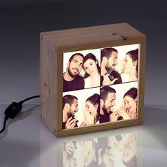 Resultado de imagen para Caja personalizada de Luz de boda