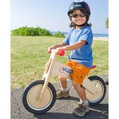 Diggin Active Skuut Wooden Balance Bike (Red)