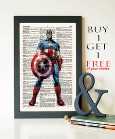 Hey, I found this really awesome Etsy listing at https://www.etsy.com/listing/226175098/captain-america-buy-1-get-1-free-marvel