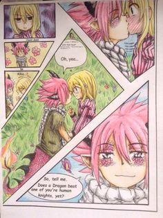 NaLu Fairy Tale Anime, Fairy Tail Nalu, Fairy Tail Characters, Cartoon Characters, Nalu Fanart, Fairy Tail Comics, Natsu And Lucy, Fairy Tail Couples, Gruvia