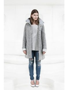 Designers Remix Just In - The newest arrivals from Designers Remix. Danish Fashion, Distressed Skinny Jeans, Wool Coat, Mantel, Charlotte, Normcore, Product Description, Chic, Copenhagen