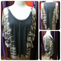 One Size Fits All Charcoal & Ivory Tye Dye Scoop Neck Dolman Sleeve Top #OneSizeFitsAllCharcoalIvoryTyeDyeScoopNeckDolmanSleeveTop #CharcoalIvoryTyeDyeScoopNeckDolmanSleeveTop #TyeDyeScoopNeckDolmanSleeveTop #ScoopNeckDolmanSleeveTop #DolmanSleeveTop #OneSizeFitsAll #CharcoalIvory #TyeDye #ScoopNeck #DolmanSleeve #Top 25% Off All #ShadesofWhite #HolyAdornmentBoutique #HoustonBoutique #LadiesBoutique #HoustonSales #SmallBusiness #ShopLocal #EtheFrugalDiva #EtheProverbs31Woman…