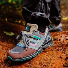 and adidas Consortium are taking it outside. This limited edition EQT 91 honors the forgotten Adventure Equipment line of footwear, a series of gear meant for the outdoors. For full release details, tap the link in our bio. Sneaker Games, Light Up Shoes, Tennis Fashion, Hot Shoes, Types Of Shoes, Adidas Sneakers, Adidas Zx, Sneakers Fashion, Hiking Boots