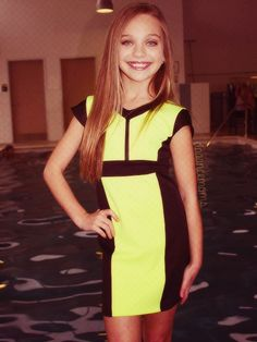 Maddie Ziegler in Sally Miller #Scuba girl dress