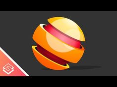 Inkscape Tutorial: Vector 3D Sphere Logo or Icon - YouTube