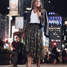 Skirt Molly Bracken - Currently thinking of a gateway in... New York! Stylish @joanavaz_  in @molly_bracken_officiel 💋#mollybracken #newcollection #fw17 #fw17collection #blogger #fashion #fashionday #fashionmood #style #stylishgirl #styleoftheday #ootd #findit #follow