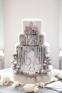 ... and practical winter wedding ideas winter wedding cake more white
