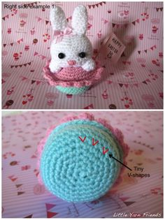 Little Yarn Friends • Crochet Tips: How to differentiate Right side & Wrong side Amigurumi?