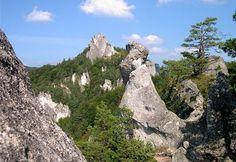 Slovensko, Súľovské skály