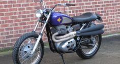 flat track motorcycles | 1971 BSA A65 - Flat Tracker | Classic Driver Market