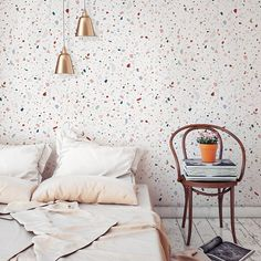 Bed Sheets Keep Coming Off Product Terrazzo, Terrazo Flooring, Bedroom Wall, Bedroom Decor, Window Bed, Window Seats, Luxury Bedding Sets, Deco Design, Home Decor Inspiration