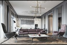 "Апартамент в ЖК ""Актер Гэлакси"" - Галерея 3ddd.ru"