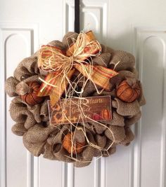 Hey, I found this really awesome Etsy listing at https://www.etsy.com/listing/199783353/fall-burlap-wreath-thanksgiving