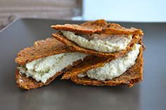 Raw sun-dried tomato crackers -  at Gluten Free Cat