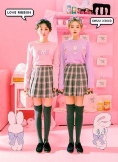 chuu_츄 - 츄(chuu) | Estherloveschuu ribbon knit | BEST