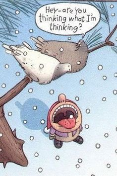 Funny Christmas Cartoons - Best Funny Jokes and Hilarious Pics Funny Christmas Cartoons, Funny Christmas Pictures, Funny Cartoons, Funny Pictures, Cartoon Jokes, Funny Images, Bing Images, Winter Pictures, Christmas Photos