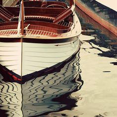 Vintage Wooden Boats  8x8 ready to frame photo by PacificPhotoArt, $16.00