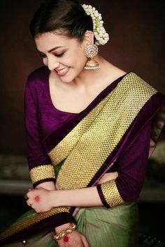 Olive Green Color, Green Colors, Beautiful Girl Indian, Beautiful Women, Green Saree, South Indian Actress, Indian Girls, New Girl, Girl Photography