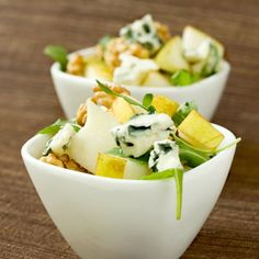Découvrez la recette Salade d'endives à l'Auvergnate sur cuisineactuelle.fr.