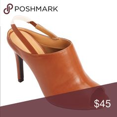 """32a09f463 Shop Women s comfortview size Various Heels at a discounted price at  Poshmark. Description  March Slingback Sandal by Comfortview® Color  """"Luggage""""."""