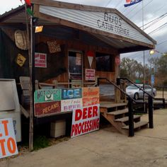 Hole in the wall meat shacks in the middle of Cajun Country. Yes Please.