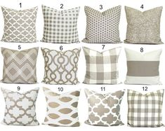 Pillow Covers As Seen on HGTV & in Good by ElemenOPillows on Etsy