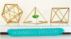DIY GEOMETRIC ROOM DECOR | Himmeli Orb WITH STRAWS? PINTEREST & TUMBLR
