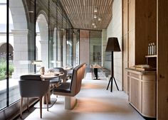 Ancient Monastery Transformed Into a Magnificent Hotel and Restaurant upgraded interior hotel restaurant