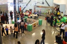 The Thinkery in Austin has many different kinds of maker and exploratory activities in our shared space.