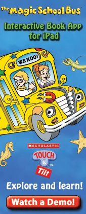 The magic school bus interactive book app for ipad