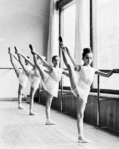 Ballet classes every Monday, Wednesday, and Friday.