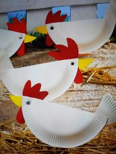 høner diy barnehage Craft Stick Crafts, Diy And Crafts, Arts And Crafts, Diy For Kids, Easter Crafts For Kids, Gifts For Kids, Fire Truck Craft, Truck Crafts, Cute Egg