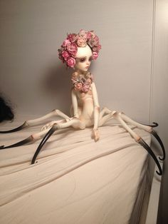 Fantasy | Whimsical | Strange | Mythical | Creative | Creatures | Dolls | Sculptures | Doll Chateau Elizabeth