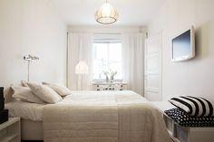 Stockholm | white bleached bedroom