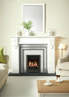 Fireplaces Glasgow Scotland Wood marble cast iron granite limestone fireplace mantels