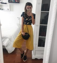 Swans Style is the top online fashion store for women. Shop sexy club dresses, jeans, shoes, bodysuits, skirts and more. Cute Fashion, Look Fashion, Korean Fashion, Girl Fashion, Womens Fashion, Chic Outfits, Summer Outfits, Fashion Outfits, Floral Pants Outfit