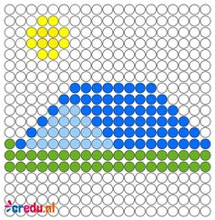 Summer Activities For Kids, Book Activities, Perler Patterns, Diy Crafts For Kids, Perler Beads, Beading Patterns, Tent, Camping, Projects To Try