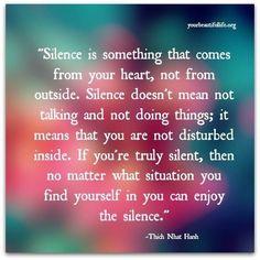 Silence  Stilte
